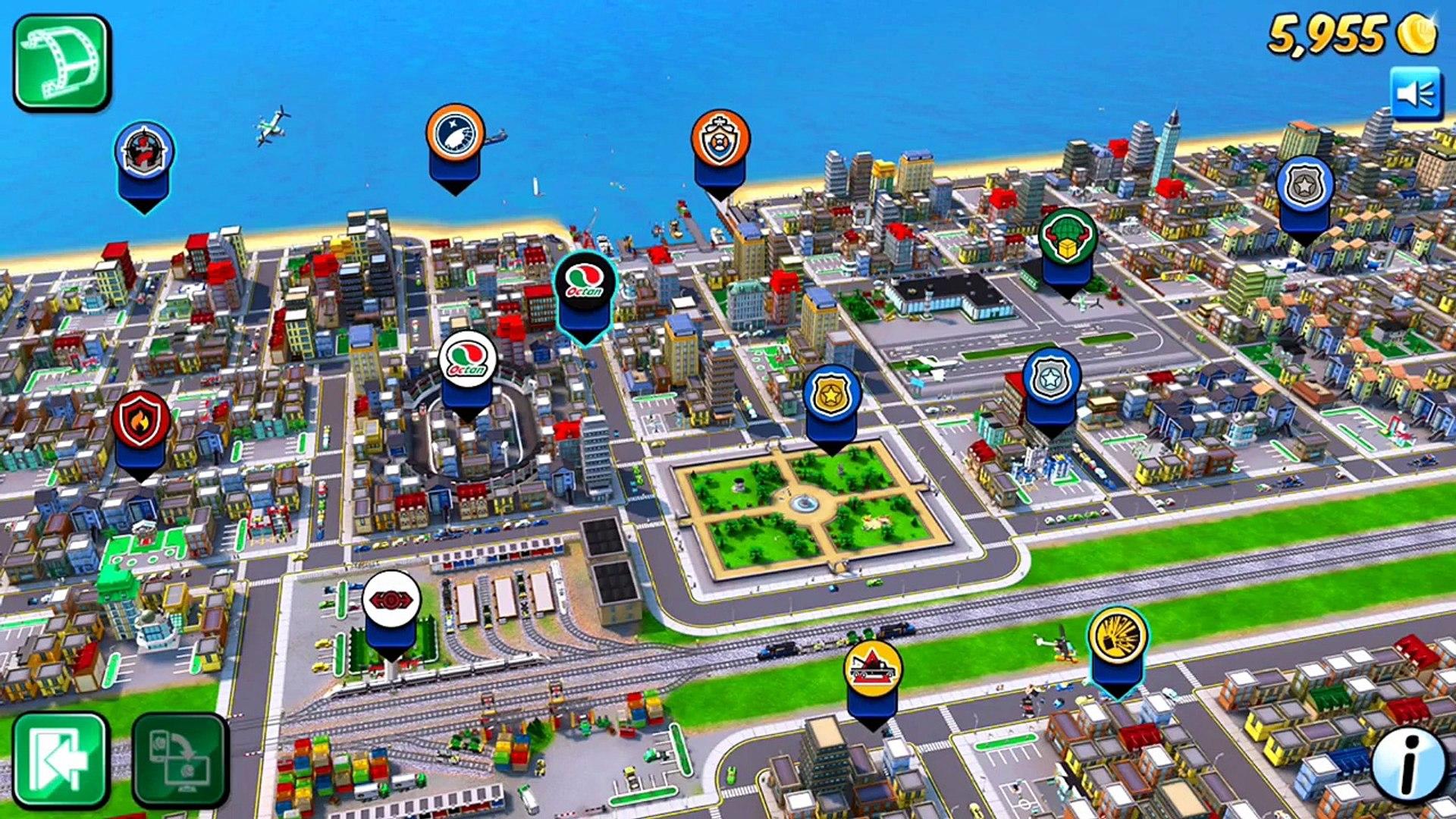 Игра Lego City - My City обзор и прохождение на русском языке. Играем на Айфоне