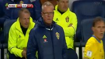 Sweden 4 - 0 Luxembourg 07/10/2017 Marcus Berg Super Goal 54' World Cup Qualif HD Full Screen .