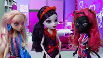 Monster High Dolls Mystery Series with Elissabat, Catty Noir, Clawd Wolf and more