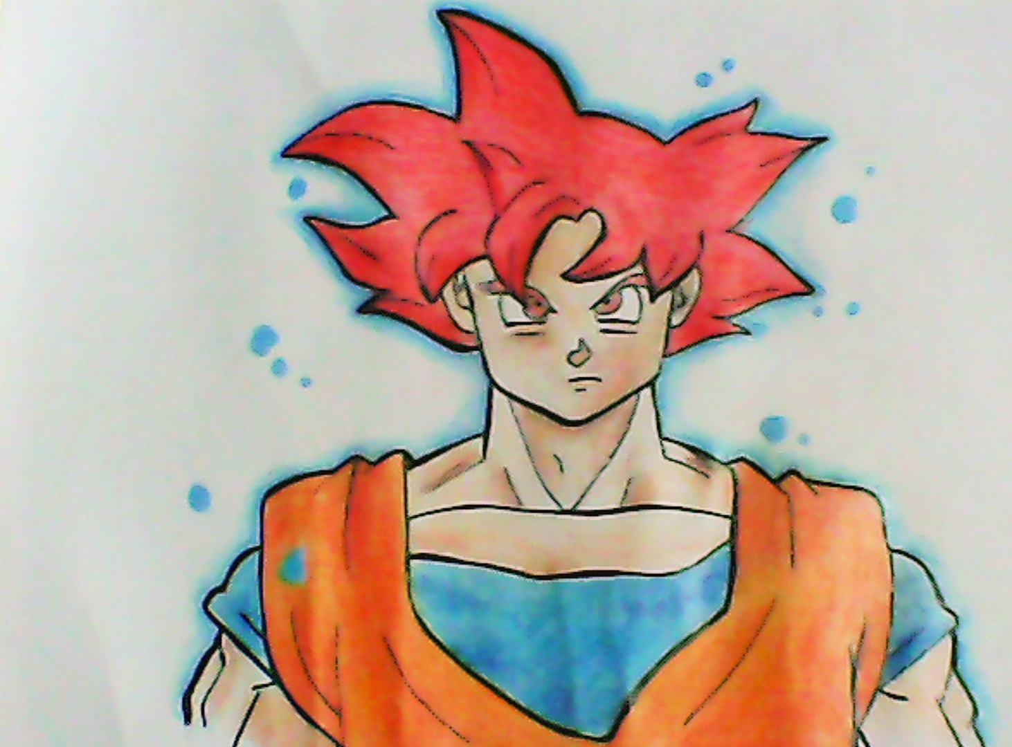 Desenhando O Goku Ssj God Video Dailymotion