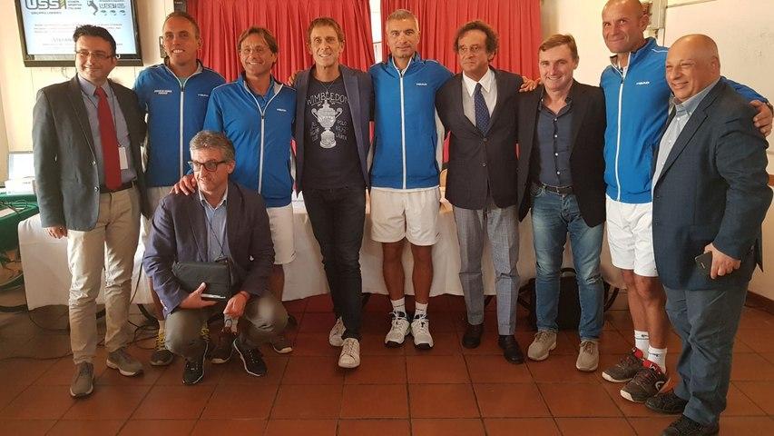 Ussi, campionato Nazionale a squadre di Tennis per giornalisti