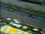 Gran Premio degli Stati Uniti 1986: Sorpassi di A. Senna ed Arnoux a Mansell, intervista a Nannini e ritiro di Berger