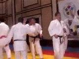 Judo enfants - camaraderie et chutes
