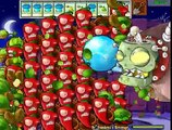 Plants Jalapeno Bombs No Exploding vs Dr. Zomboss Mod Pvz