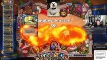 (Hearthstone) Golden Monkey Fatigue - Monkey Reno Warrior VS Control Mage