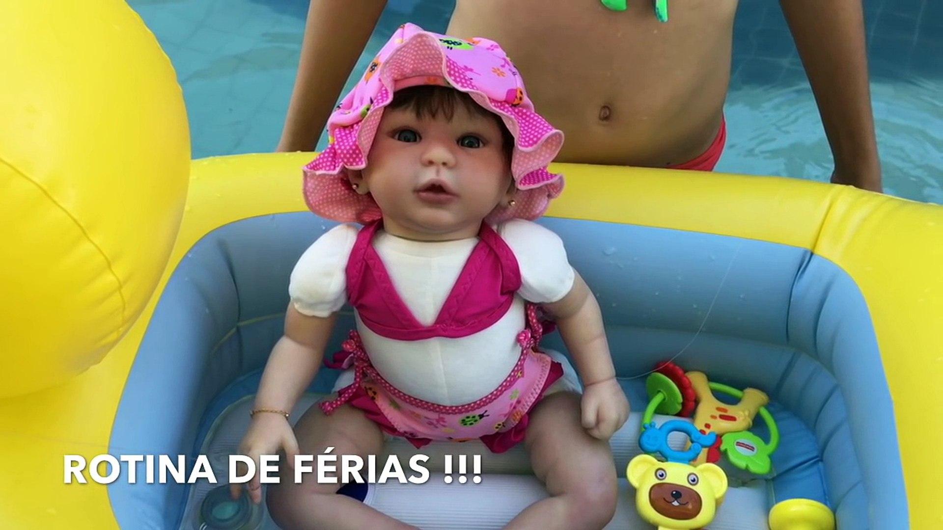 #3 ROTINA DE FÉRIAS da minha bebê reborn do molde Kylin