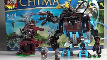 LEGO Chima Gorzans Gorilla Striker Review - LEGO 70008 Legends of Chima