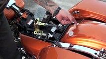 Install detachable rider backrest on new Harley Davidson Touring | Law Abiding Biker Podcast