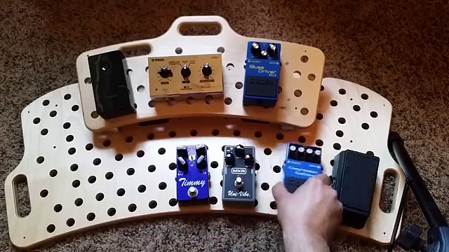 What order to put your pedals in.
