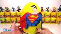 Superman Sürpriz Yumurta Oyun Hamuru - Ironman Transformers Süpermen Oyuncakları