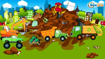 Racing Cars FUN HOT CHALLENGE - The Big Race in the City - Cars & Trucks for Kids