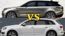 2018 Range Rover Sport vs 2017 Audi SQ7 Sport