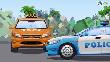 Полиция Машины Помощники в Городе Развивающие мультфильмы для детей Сборник Все серии Мультики 1 час