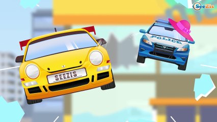 The Tow Truck & Car Service Video for kids And Service Vehicles Cartoons for children