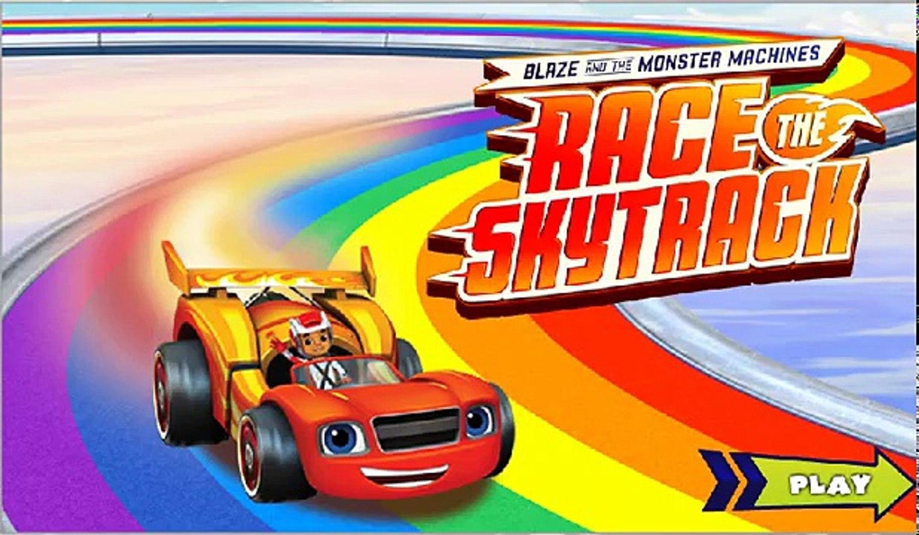 Monster Machine Blazer Em Portugues Jogo Blaze Race The Sky