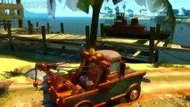 Hulk smash Tow Mater and Dinoco King 43 Disney pixar cars wake island v.1.1