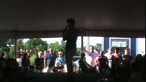 Dean Z sings 'His Latest Flame' Elvis Week 2013 T