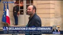 """""""Notre objectif est d'être un gouvernement qui avance"""", lance Edouard Philippe"""