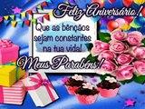 Mensagem Feliz Aniversario Gospel - Parabens Feliz Aniversario - Mensagem de Aniversario