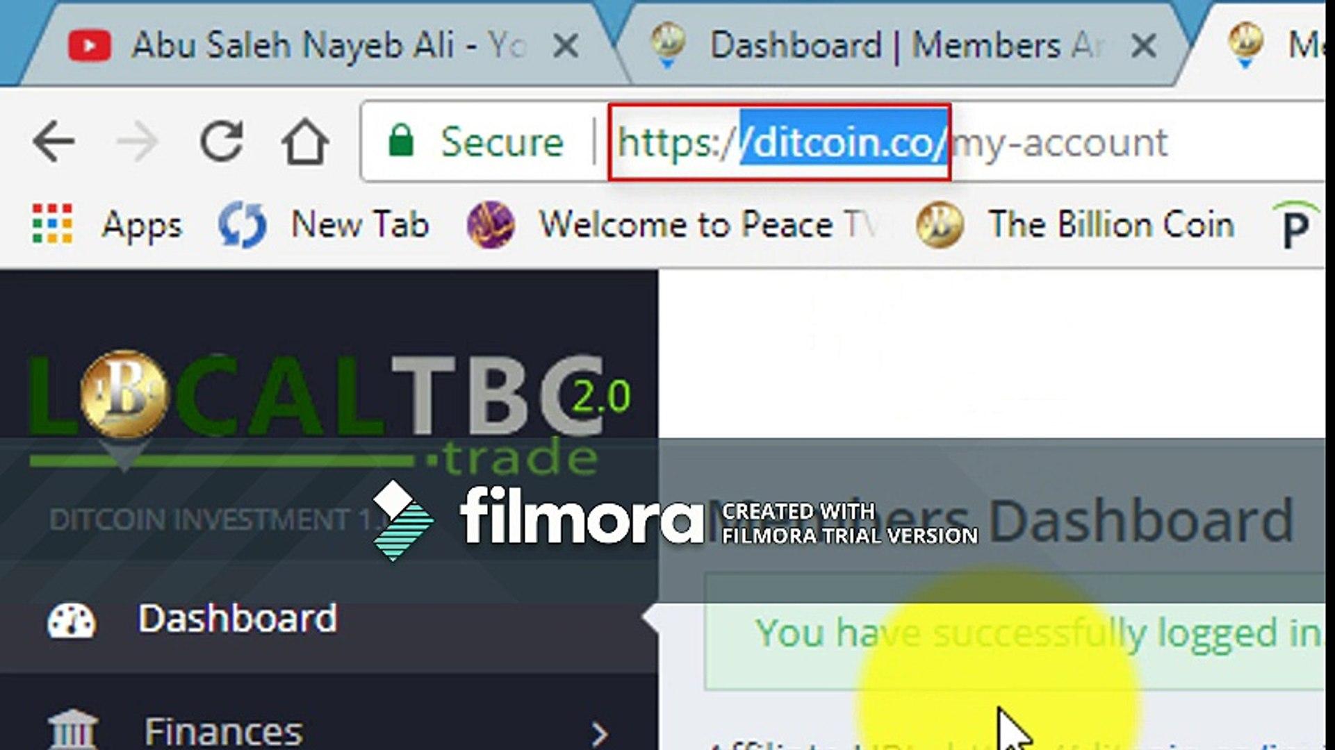 new world crypto currency DITCOIN (DTC) like  bitcoin