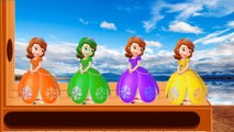 Sofia The First Learn Colors with Boss Baby WOODEN FACE HAMMER XYLOPHONE Jelly Soccer Balls for Kids