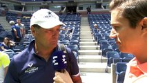 Toni Nadal Interview for Eurosport (ES) at US Open, 27 Aug 2017
