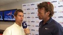 Carlos Moya and Toni Nadal Interview for Eurosport (ES) / R1 USO 2017