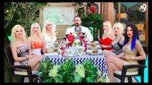 Sn. Adnan Oktar, kız arkadaşlarının havuz başındaki yemek davetine katıldı.