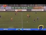 Lecce - Grosseto 1-0 | Highlights and Goals | Prima Divisione Girone B 14° Giornata 1/12/2013