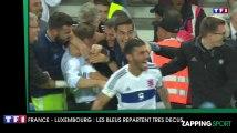 Zap Sport du 04 septembre - Foot : La France repart déçue face au Luxembourg