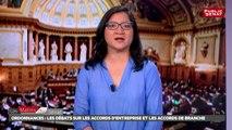 Ordonnances : Le Sénat adopte l'article 1 - Les Matins du Sénat (31/08/2017)