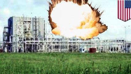 โรงงานเคมีระเบิด ผลของเฮอร์ริเคนฮาร์วีย์