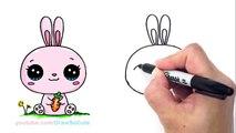 Un et un à un un à lapin mignonne dessiner facile Comment lapin à Il