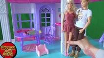 Niños para de dibujos animados de Barbie en la liga rusa 3 en la serie de dibujos animados de juguete muñeca Barbie playa