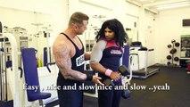 Pardesi Gym Session - Rahim Pardesi - YouTube