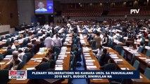 Plenary deliberations ng Kamara ukol sa panukalang 2018 National budget, sinimulan na