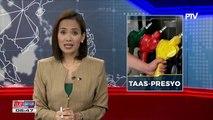 Panibagong oil price hike, ipatutupad mamayang hatinggabi