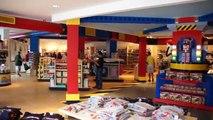 Legoland Hotel tour - lobby, restaurant, pool at Legoland Florida Resort