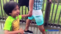La famille amusement amusement géant de plein air piscine vague Waterpark amusement waterslides ryan toysreview