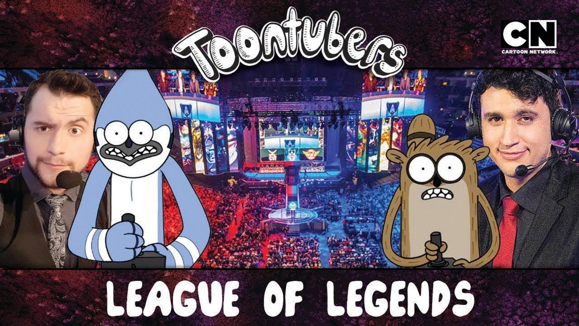 La Gran Guerra de los Narradores en League of Legends ToonTubers Cartoon Network