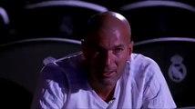 Les larmes de Zinédine Zidane en voyant un reportage sur sa vie