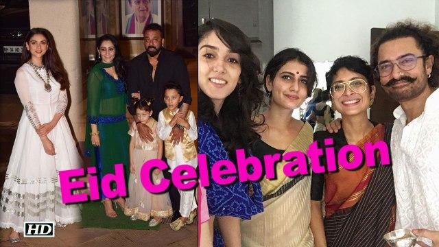 Sanjay Dutt & Aamir Khan celebrates Eid with DEAR ONES