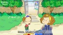Un et un à un un à dessin animé chien éducation Anglais pour dans enfants leçon mon sur histoire en vertu de Où est 7