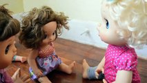 Naughty Baby Alive Molly Clones Herself! Part 2 - Baby Alive Videos