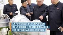 Quels dégâts provoqueraient la bombe H de la Corée du Nord ?