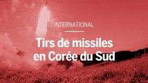 La Corée du Sud s'exerce aux tirs de missiles en réponse à l'essai nucléaire nord-coréen