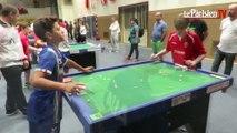 Elancourt : coupe du monde de football de table