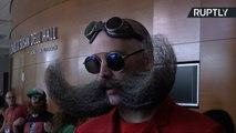 Facial Hair Fanatics Face-Off at World Beard and Moustache Championships