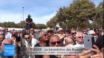 CAP D'AGDE - La bénédiction des Brescoudos - Discours du Père Guy GILBERT - Dimanche 3 septembre 2017