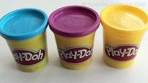 Pâte à modeler apprentissage les couleurs mélange le les couleurs jaune mélange ce qui